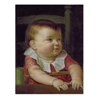 Otto Sigismund  Son of the Artist, 1805 Postcard