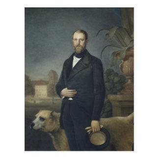 Otto von Bismarck, c.1850 Postcard