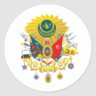 Ottoman Empire Coat Of Arms Sticker