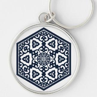 Ottoman pattern 6 keychain