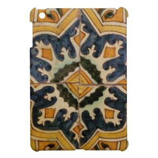 Ottoman Turkish vintage ceramic tile yellow star Case For The iPad Mini