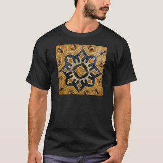Ottoman Turkish vintage ceramic tile yellow star T-Shirt