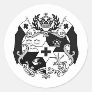 Otua Mo Tonga Productionz Classic Round Sticker