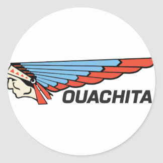 Ouachita River Classic Round Sticker