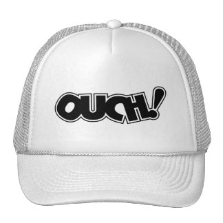 OUCH! COMIC OUCH COMIC-BOOK EXCLAMATION SHOUT COMM CAP