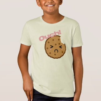 """Ouch!"" says the Kawaii Cookie T-Shirt"