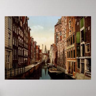 Oudezijds Kolk Amsterdam Poster
