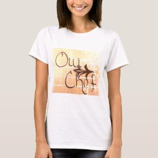 Oui Chef Ladies T-Shirt
