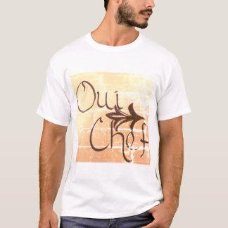 Oui Chef Men's T-Shirt