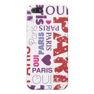 Oui paris je t'aime iphone case iPhone 5 cover