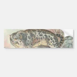 Ounce (Snow Leopard) - Customized Bumper Sticker
