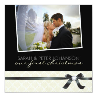 Our 1st Christmas Invitations Photo Cards