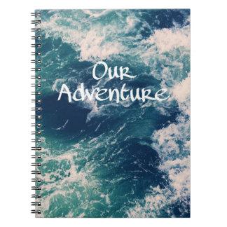 Our adventure note/scrapbook notebooks