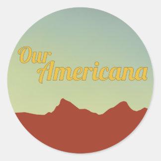 Our Americana Sticker