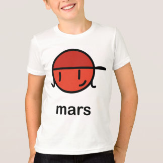 Our Big Fat Solar System - Mars Tee Shirt