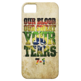 Our Blood, Our Sweat, Your Tears Germany vs Brazil iPhone 5 Covers