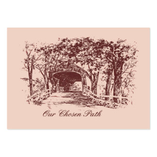 Our Chosen Path Save The Date Cards Business Card