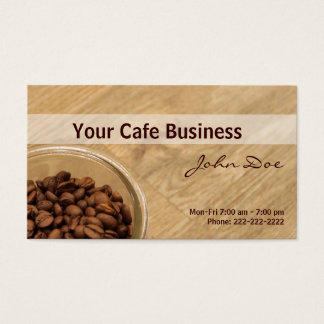 Our Coffee Shop Business Card