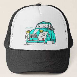 OUR CONVERTIBLE DAVID AND THOMAS.png Trucker Hat