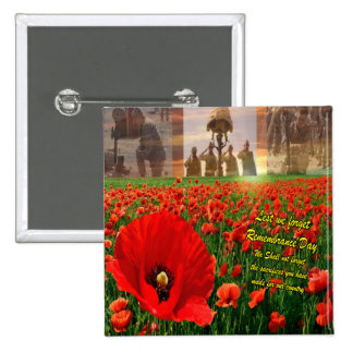 Our Country Remembrance Day Button