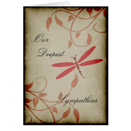 Our Deepest Sympathies Cards