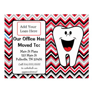 Our Dental Office is Moving, Business Announcement Postcard
