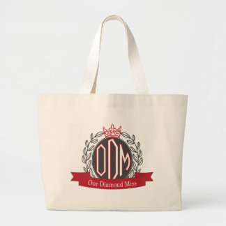 Our Diamond Miss monogram tote