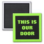 Our Door Stateroom  Door Marker