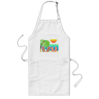 Our Dream Vacation Long Apron