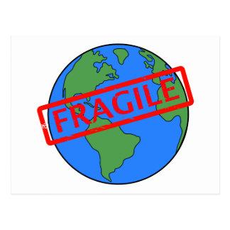 Our Earth the Fragile Post Card