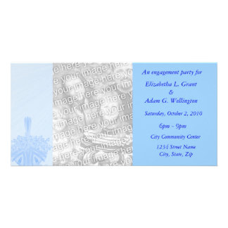 Our Engagement Party Customised Photo Card