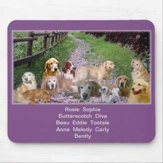 Our Family of Pups Mouse Pad