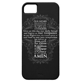 """Our Father"" ""Lord's Prayer"" ""Christian Gift Jesus iPhone 5 Cases"