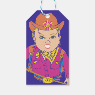 Our Favorite Cowgirl Gift Tag