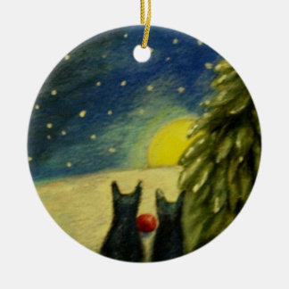 Our Finest Gift We Bring Ceramic Ornament