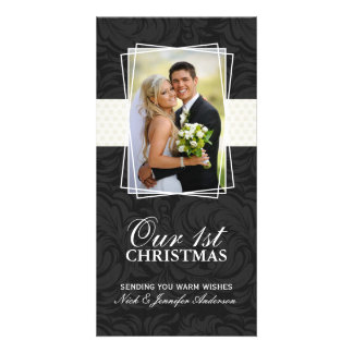 Our First Christmas Holiday Photo Cards (4x8)