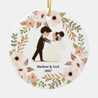 Our First Christmas Married Couple Ornament