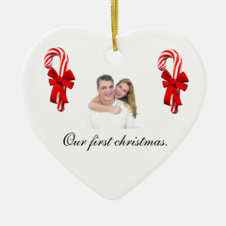 Our first Christmas ornament for couples
