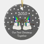 Our First Christmas Together 2010 (GLBT Snowmen)
