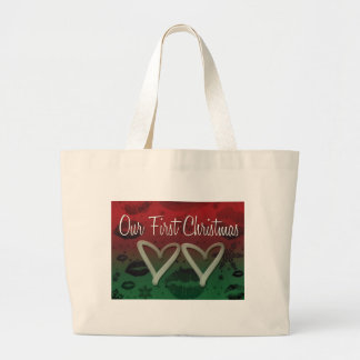 Our First Christmas Tote Bags