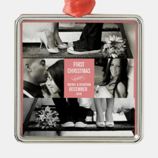 OUR FIRST HOLIDAY PHOTO ORNAMENT