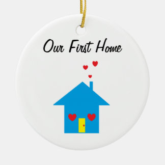 """Our First Home"" Ornament"