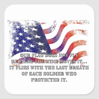 Our Flag Veterans Day Stickers