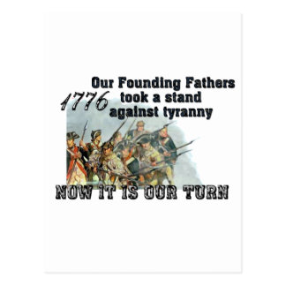 Our Founding Fathers against tyranny Post Cards