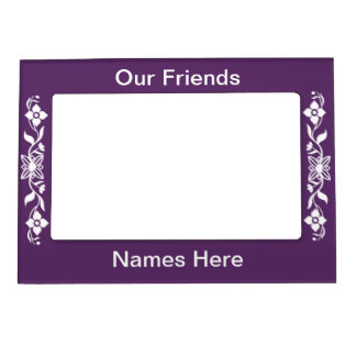 OUR FRIENDS MAGNETIC PICTURE FRAME