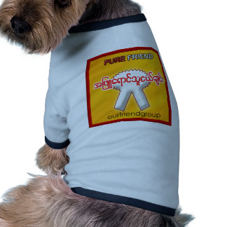 OUR FRIND GROUP DOG T SHIRT