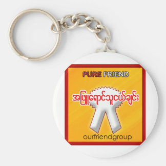 OUR FRIND GROUP KEY CHAINS