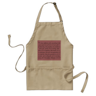 """Our Gifts"" Scripture Apron"