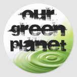 Our Green Planet  Stickers