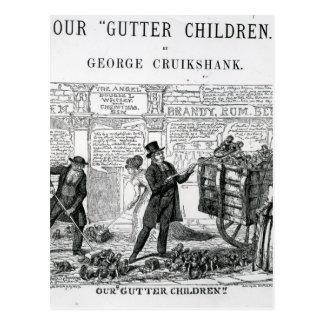 Our Gutter Children, 1869 Postcard